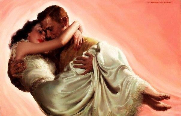 Я с нежностью беру твою ладошку, волна едва заметного тепла сбивает сердца ритмы понемножку