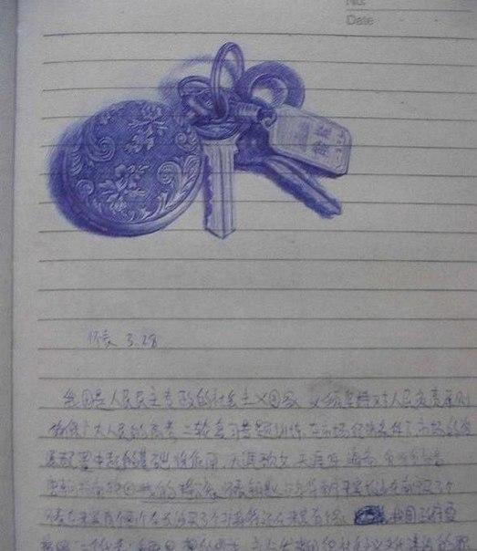 Что нарисовать когда скучно на руке